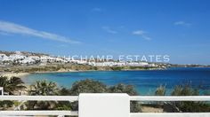 This unique property is located just a few steps away from the world famous beach of Psarou. Villa Βimo has been very recently renovated and refurbish. Greece Holidays, Famous Beaches, Luxury Villa Rentals, Mykonos, Luxury Travel, Villas, Sunset, World, Water