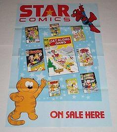 1984 Marvel Children's Star Comics 1980's Cartoon Promo Poster: Spider-man/Heathcliff/Get Along Gang/Star Wars Ewoks/Planet Terry/Fraggle Rock, http://www.amazon.com/dp/B001LQZ0QQ/ref=cm_sw_r_pi_awd_fHJcsb0M6RVZE