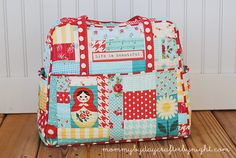 Mommy by day Crafter by night: My Quilted Weekender Bag