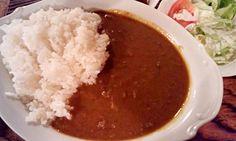 """Beef curry. It's simple taste!  (""""Sabowl"""" in Tokyo)"""