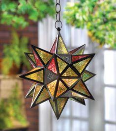 Moroccan Style Star Lantern #morocco #moroccan #lantern #star #decoration #design #culture
