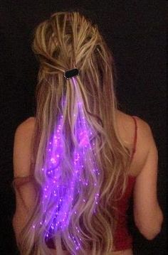 Starlight Strands Illuminating Hair Extensions...for the next show!