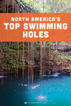 This summer take a refreshing trip and take a dip in one of these amazing swimming holes.