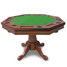 Kingston Walnut 3-in-1 Poker Table