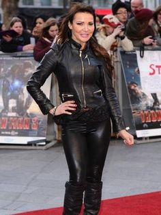 Lizzie Cundy Spandex Leather | Lizzie Cundy | Iron Man 3 Premiere | Pictures | Photos | New ...
