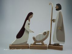 """Nativity Figures - """"Reserved for Bonnie S. Christmas Wood, Christmas Crafts, Xmas, Wood Carving Designs, Wooden Figurines, Valentine Crafts For Kids, Nativity Crafts, Wood Creations, Wooden Art"""