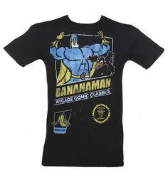 Men's #Bananaman Arcade Game T-Shirt from TruffleShuffle xoxo