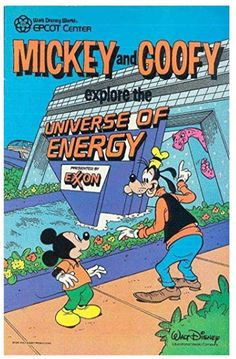 This Mickey and Goofy Explore the Universe of Energy Comic Book was a giveaway at the Universe of Energy Pavilion in Old EPCOT. I got my copy in 1985 and remember being very excited whenever I got anything free that… Vintage Disney Posters, Vintage Cartoon, Vintage Disneyland, Vintage Comic Books, Old Disney, Disney Magic, Disney Word, Disney Aesthetic, Disney Wallpaper