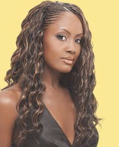 haircut trends cornrows in the front hair weave in the back black 2987