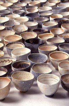 bowls natural pottery