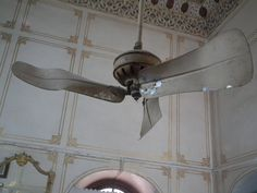 Old Ceiling Fans | Panoramio - Photo of VERY OLD CEILING FAN IN JUNAGARH FORT.