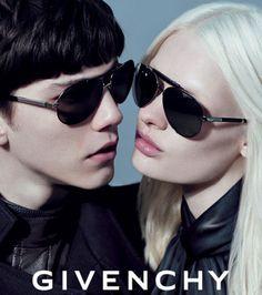 Givenchy - Campagne de pub eyewear automne-hiver 2012-2013