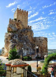 Zuheros castle, Spain: