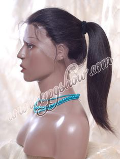 Rpgshow Virgin Full Lace Human Hair Wigs
