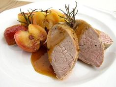 Perfect pairing: pork and apples