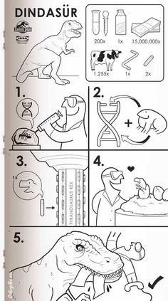 Dindasur. Satirical IKEA Manuals