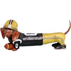 Hot Diggity Dog Football Doxie