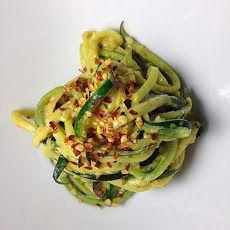 Creamy Garlic Zucchini Noodles Recipe