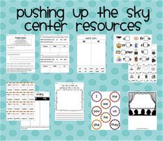 Pushing Up the Sky center resources 4th Grade Ela, Second Grade, Reading Centers, Reading Skills, Reading Street 3rd Grade, Treasures Reading, Guide Book, Teacher Stuff, Language Arts