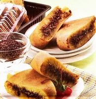 This! Martabak Manis or Terang Bulan. Best dessert ever, don't eat this if you're looking for something healthy :P