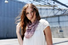 Smokey pink delicate scarf 4 options shawl by noavider on Etsy, $45.00