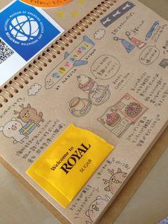 ラクダノートの中身 sketchbook doodles and ephemera