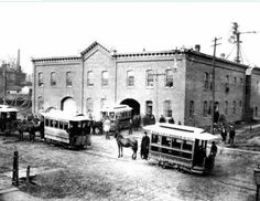 Trolley Barn, 2nd and State Street Stable (1885)