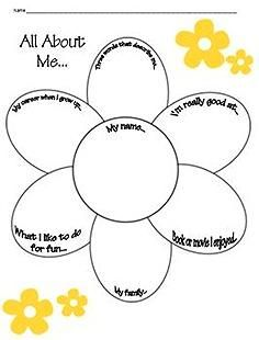 All About Me Craftivity~ Three, fun, easy, and ready-to-use craftivities! Use for health lessons, hall display, or writing lessons. Print and go