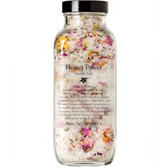 Flower Power Healing Bath Salts | Angel Face Botanicals (OP daptorquato)