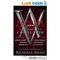 Amazon.com: Vampire Academy: The Complete Collection: 1/6 eBook: Richelle Mead: Kindle Store