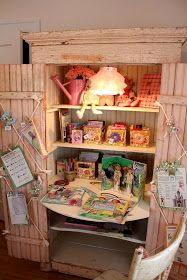 Itsy Bits and Pieces: The Bachman's Spring 2011 Ideas House- the Bedrooms...