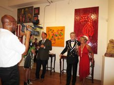 """Amsterdam Whitney Gallery - """"Chelsea Roaring 1920's"""" Party! SEPTEMBER 2012 Exhibition"""