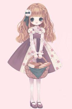 girl,cute,kawai