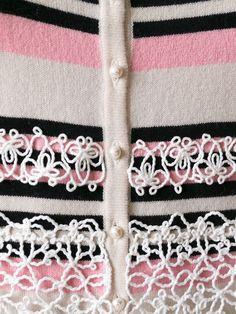 Chanel Vintage Robe Rayée En Maille - Rewind Vintage Affairs - Farfetch.com