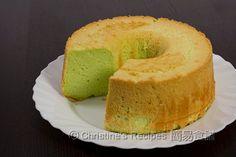 Pandan Chiffon Cake from Christine's Recipes