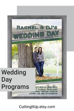 Programs, Programs, get your programs here! Are you looking for your very own Wedding Game Day Program printed on Magazine paper and themed through and through? Well then, as a fellow Sports Bride, I'd be happy to make those for you! Softball Wedding, Basketball Wedding, Golf Wedding, Sports Wedding, Wedding Games, Wedding Reception, Wedding Day, Ticket Invitation, Invitations