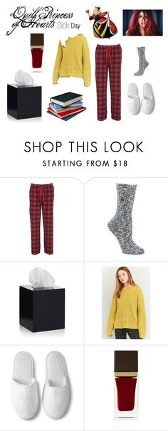 """""""Disney Descendants: Sick Day: Quill Princess of Hearts"""" by e-auradon on Polyvore featuring Woolrich, Birkenstock, Jonathan Adler, BDG and Tom Ford"""