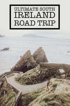 Ultimate South Ireland Road Trip - Telle Tells Amazing Destinations, Travel Destinations, Ireland Travel Guide, Europe Continent, Road Trip Europe, Group Travel, Where To Go, Vacation Ideas, Karma