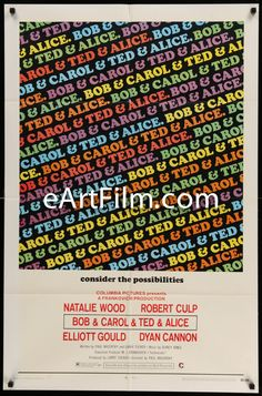 Happy Birthday #CharlesLang https://eartfilm.com/search?q=%22charles+lang%22 #cinematography #cinematographers #directorofphotography #DP #movies #film #cinema  #posters #movieposters     Bob & Carol & Ted & Alice-27x41-'69-Paul Mazursky-Natalie Wood-Dyan Cannon