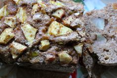almond apple bread.