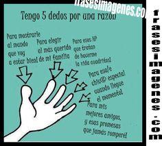 5 dedos, 5 razones
