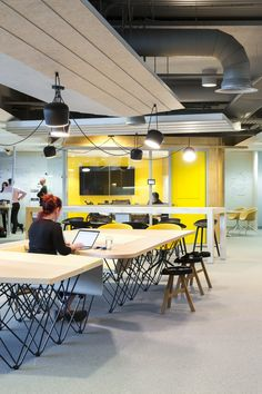 Agile Office Design at REA Group Offices - Melbourne - Office Snapshots