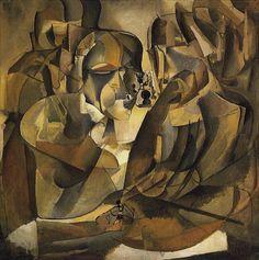Marcel Duchamp, Portrait of Chess Players, 1911