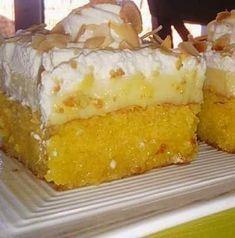 Greek Sweets, Greek Desserts, Greek Recipes, Desert Recipes, Greek Pastries, Greek Dishes, Sweets Cake, Different Recipes, Cake Recipes