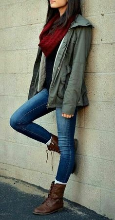 Casual jacket n jeans