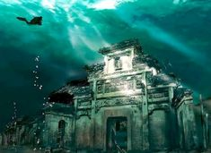 Ancient City Flooded by the Chinese Government Becomes Major Tourist Attraction | Inhabitat - Sustainable Design Innovation, Eco Architectur...