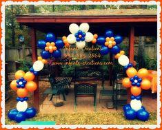 Quick Link Flower Arch - #SHSU #BalloonArch #Flowers