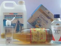 Home made Camomile toner ingredients