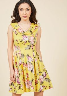 Assuredly Sweet Fit and Flare Dress