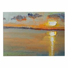 KESS InHouse Carol Schiff 'Reflections' Green Orange Dog Place Mat, 13' x 18' ** Check this awesome image  : Dog food container